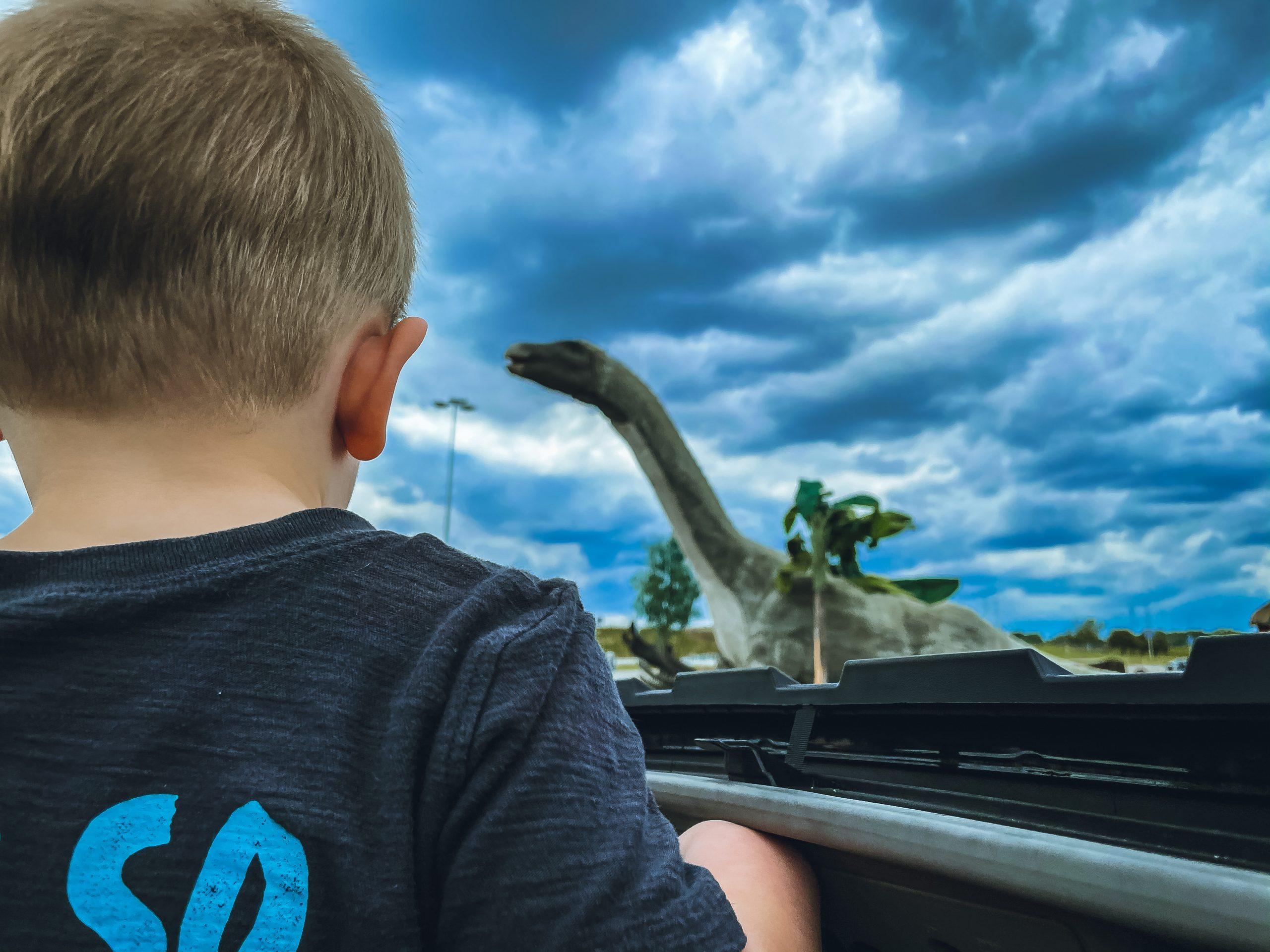 Jurassic Quest Drive Thru Tour 2021 | Arrowhead Stadium